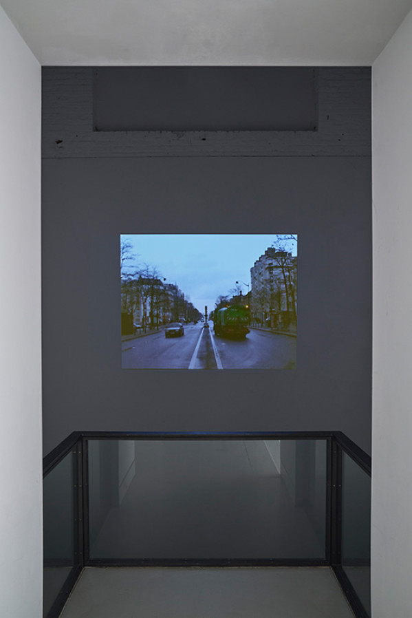 Video still: Latifa Echakhch: Sans Titre (11 mars 2005), 2005, Courtesy the Artist